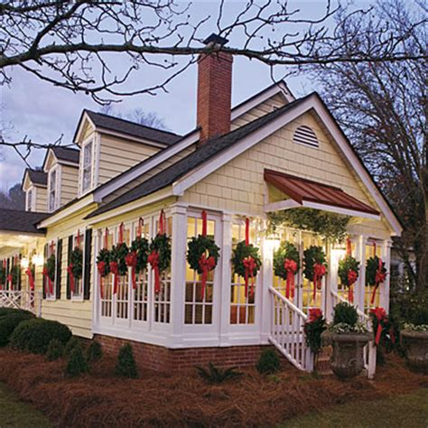 christmas wreaths for windows a wreath for every window festive christmas wreaths southern living