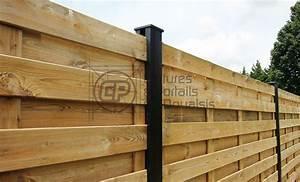 Panneau De Cloture En Bois : panneau bois with panneau bois panneau de cloture bois ~ Premium-room.com Idées de Décoration