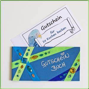 Shopping Gutschein Selber Machen : diy gutscheine bastelidee gutscheinbuch basteln mit dem bastelmagazin alles rund ums basteln ~ Eleganceandgraceweddings.com Haus und Dekorationen