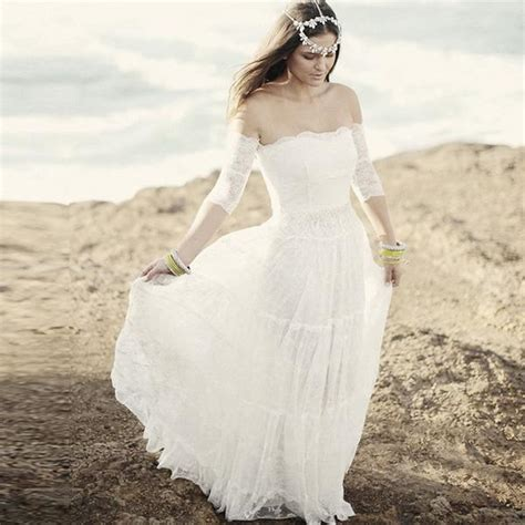 wedding dresses shabby chic shabby chic wedding gowns the faded sunflower