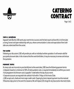 8 sample catering proposal letters sample templates With how to write a catering proposal letter