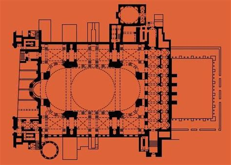 hagia floor plan 17 best images about istanbul byzantine mosques on