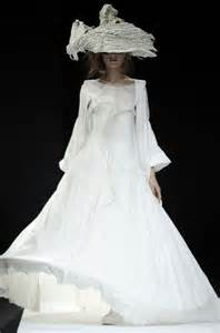 simple white dress for wedding diornoir yohji yamamoto