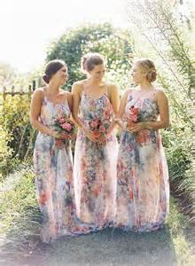 floral bridesmaid dresses wedding industry trends 2015 a floral perspective