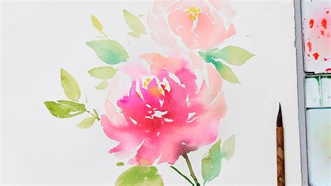 [lvl4] How To Paint Flowers In Watercolor Step By Step
