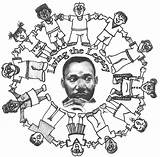 Luther King Martin Coloring Jr Printable Drawing Mlk Dr Activities Worksheets Sheets Draw Preschool Printables Drawings Getdrawings Colouring Wallpapers Getcolorings sketch template