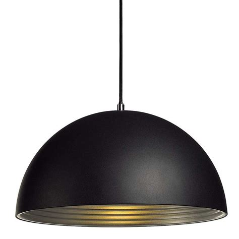 cuisine bois noir suspension dôme alu noir intérieur argent le avenue