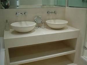 double vasque a poser olketcom With double vasque à poser salle de bain