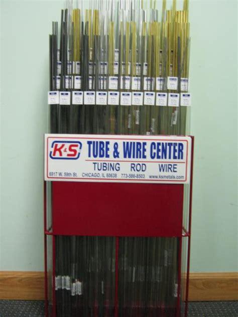 square metal tubing retail merchandisers k s precision metals line