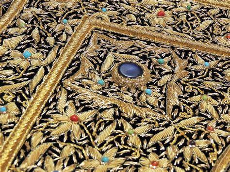decorative stones india wall hanging carpet decorative rug w semi precious