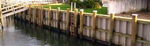 Marine Construction Structures  Retaining Walls And
