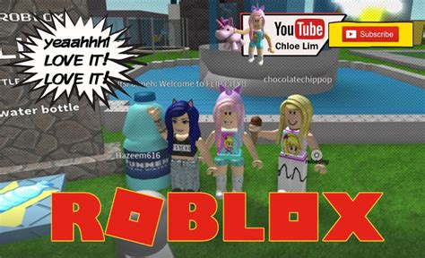roblox water bottle flip challenge gameplay
