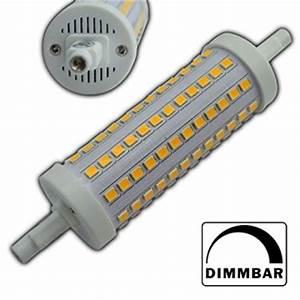 Led Standleuchte Dimmbar : r7s led 10 watt rund 118mm dimmbar warmwei strahler ~ Whattoseeinmadrid.com Haus und Dekorationen