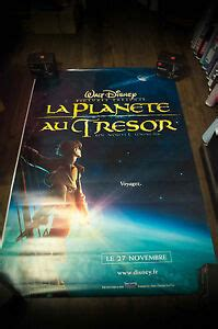 Unique treasure planet posters designed and sold by artists. TREASURE PLANET B Walt Disney 4x6 ft Bus Shelter Original Movie Poster 2002 | eBay
