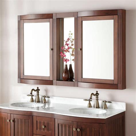 Bathroom Vanity Mirrors With Medicine Cabinet by 60 Quot Palmetto Medicine Cabinet Bathroom