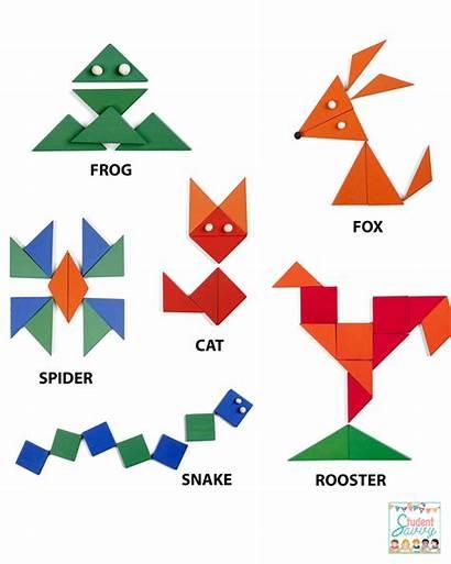 Activities Geometry Visual Perceptual Shapes Math Shape