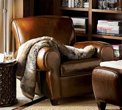 manhattan club chair from pottery barn