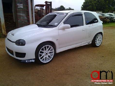 robert watts tweeked opel corsa turbo automodified