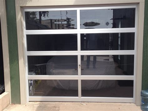 contemporary aluminum gray tinted   glass
