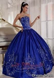 royal blue quinceanera dresses with silver 2017-2018 ...