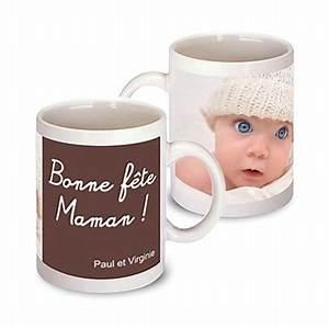 Mug Fete Des Meres : cadeau pour la f te des m res le mug photo bonne f te maman un cadeau photo original pour maman ~ Teatrodelosmanantiales.com Idées de Décoration