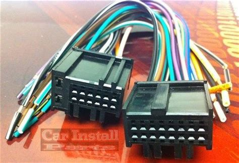 Chevrolet Aveo Wiring Harnes Connector by Chevy Oem Stock Radio Wire Harness 2006 2011 Ebay