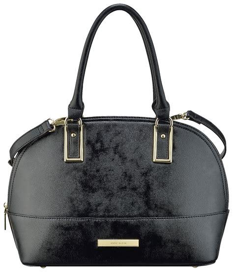 Anne Klein Shimmer Down Satchel Handbag | eBay