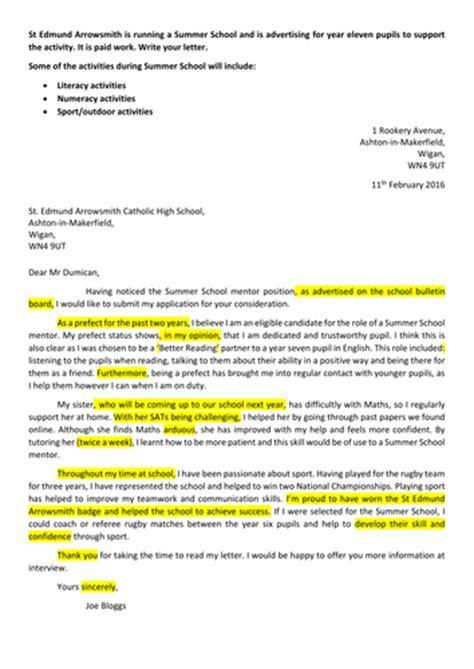 formal  informal letters   gcse english language