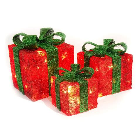 light up presents 3 led gift boxes light up presents battery