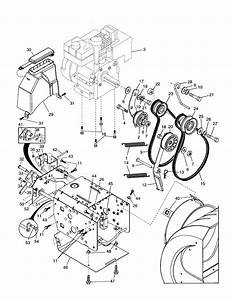 Poulan Model Pp524a Snowthrower  Gas Genuine Parts