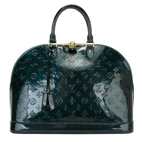 louis vuitton monogram patent leather alma bag  sale