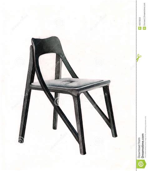 chaise allemande chaise allemande conception graphique illustration stock