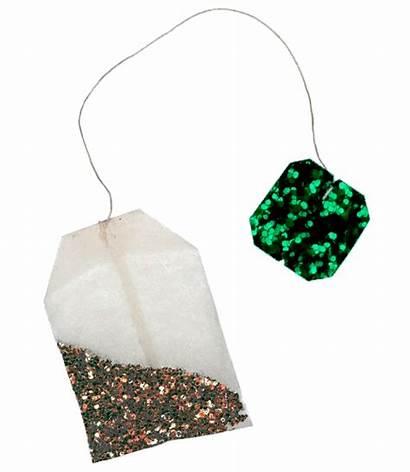 Tea Bag Transparent Drink Glitter Animation Animated