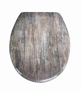 Ausgefallene Wc Sitze : duroplast motiv duroplast motiv wc sitz old wood ~ Indierocktalk.com Haus und Dekorationen