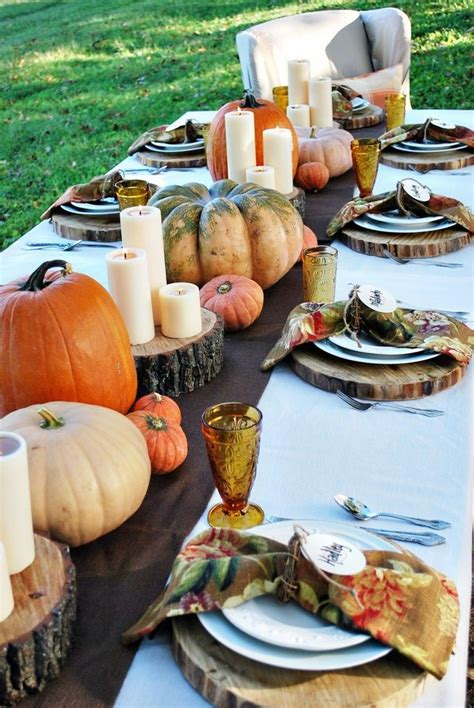 ideas for thanksgiving 30 outdoor thanksgiving dinner d 233 cor ideas digsdigs