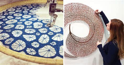 artist  domestic sewing machine  create stunning