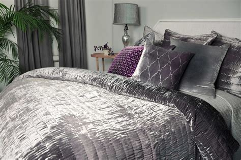 Kevin O'brien Studio Ophelia Mercury Quilted Coverlet