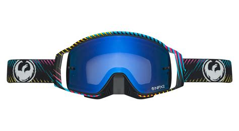 dragon motocross goggles dragon nfx2 blur blue steel mx goggles