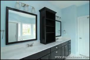 bathroom countertop storage ideas master bath storage cabinet ideas design build homes in nc