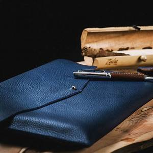 luxury leather a4 document tablet and laptop sleeve by n With leather document sleeve