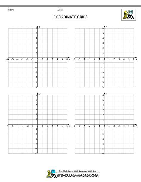 coordinate plane grid