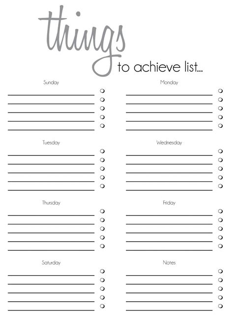 Thing 1 Editable Template by 7 To Do List Templates Word Excel Pdf Templates