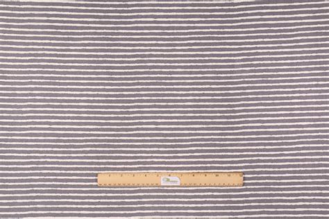 Braemore West Elm Painted Stripe Printed Cotton Drapery Fabric In Gravel/ivory Where To Buy Grommets For Curtains Black And Tan Shower Permasteelisa Curtain Wall Sewing Your Own Curved Bar Long Length Panels How Make Door Wide