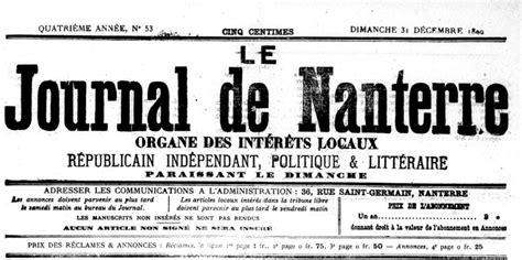 le journal de nanterre 233 e 1901 shn