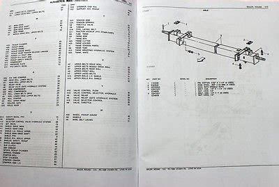 john deere  hay baler parts manual knotter