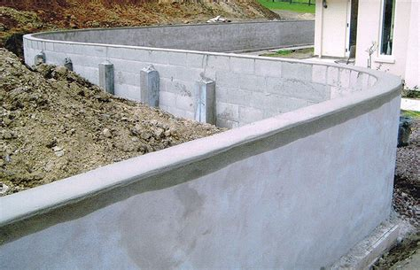 solid concrete retaining wall all brick services retaining walls conrete paving