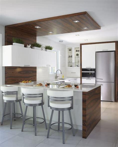 cuisine contemporaine armoires de cuisine contemporaine en merisier et bois de