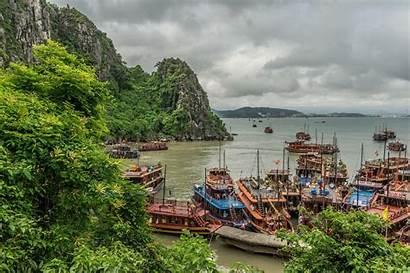 Wallpapers Vietnam Bay Halong Landscape Desktop Backgrounds