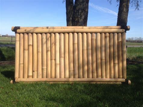 Sichtschutz Garten Bambus by Bambus Sichtschutz Garten Zaun Gartenzaun Windschutz