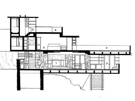 craftsman houses plans frank lloyd wright falling water floor plans house style